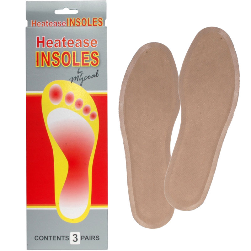 Mycoal Heatease Insole Warmer Pack