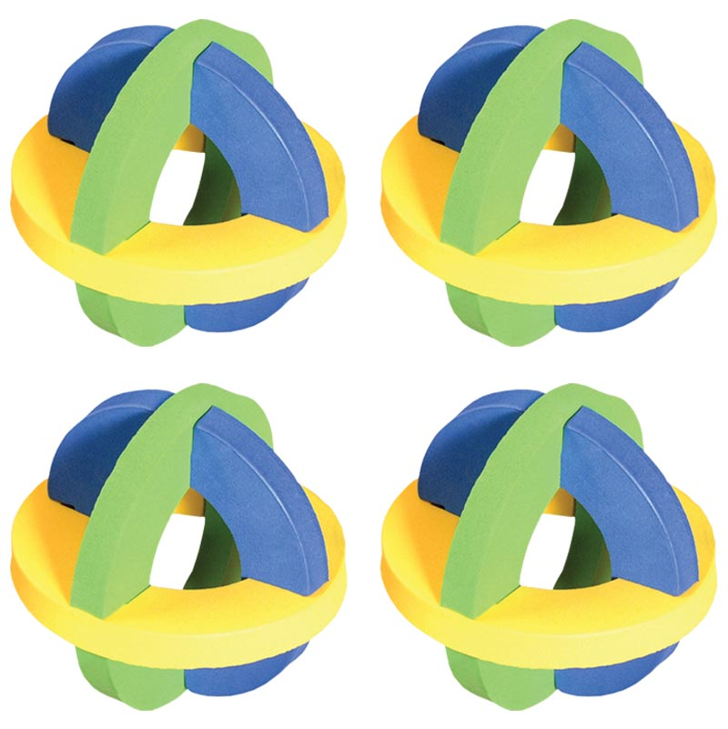 PLAYM8 Sphere Ball 4 Pack 10cm