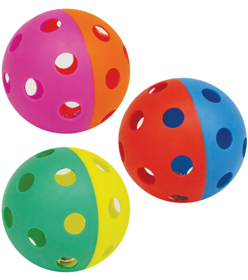PLAYM8 Zoft Jingle Ball 3 Pack 9cm