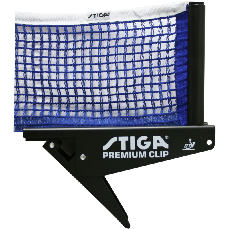 Stiga Premium Clip Table Tennis Net and Post Set