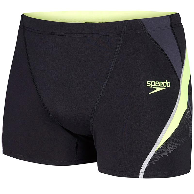 Speedo Fit Splice Aquashort Black/Yellow