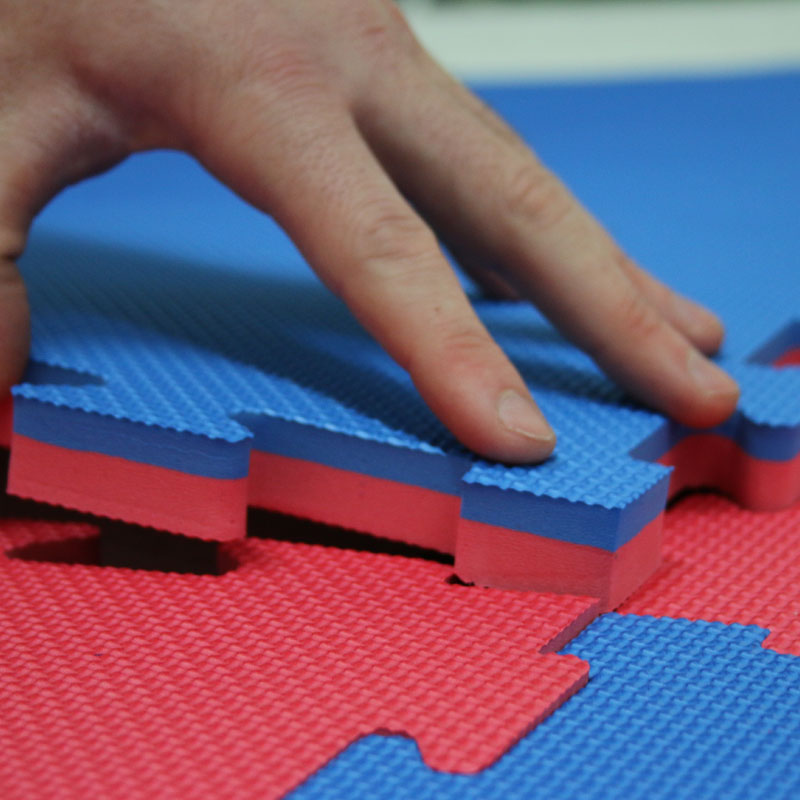 Beemat Reversible Tatami 20mm Jigsaw Mat 1m x 1m