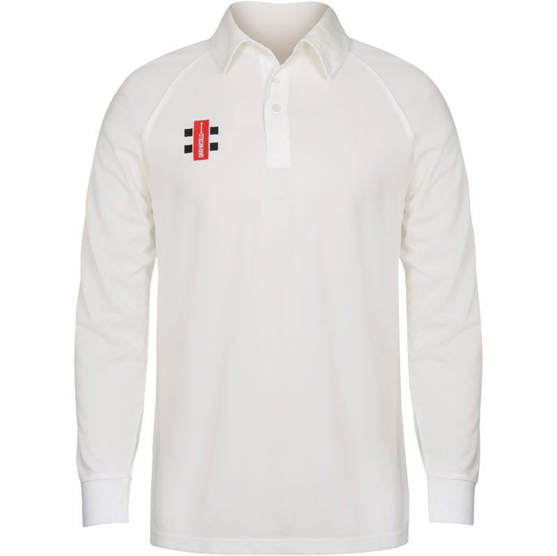 Gray Nicolls Matrix Shirt Long Sleeve Cricket Shirt