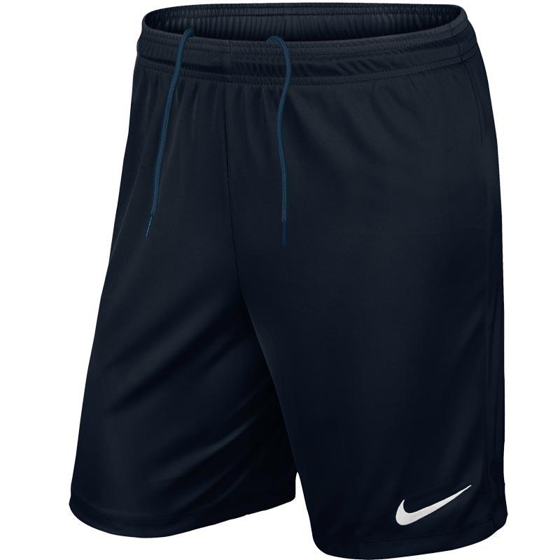 Nike Park II Knit Senior Football Shorts Black