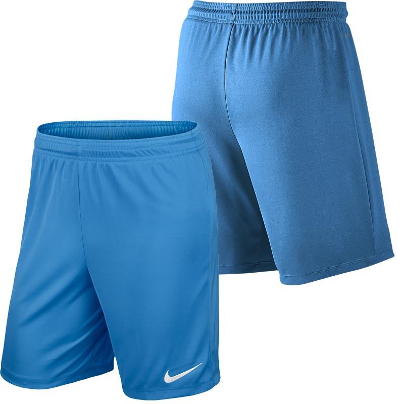 Nike Park II Knit Senior Football Shorts University Blue