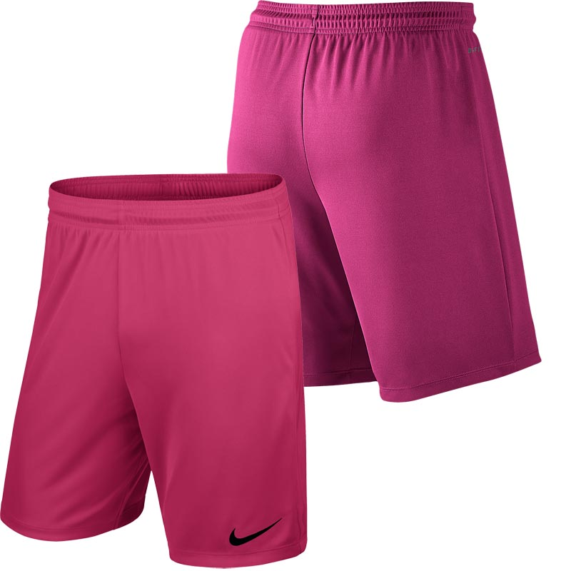 Nike Park II Knit Junior Football Shorts Vivid Pink