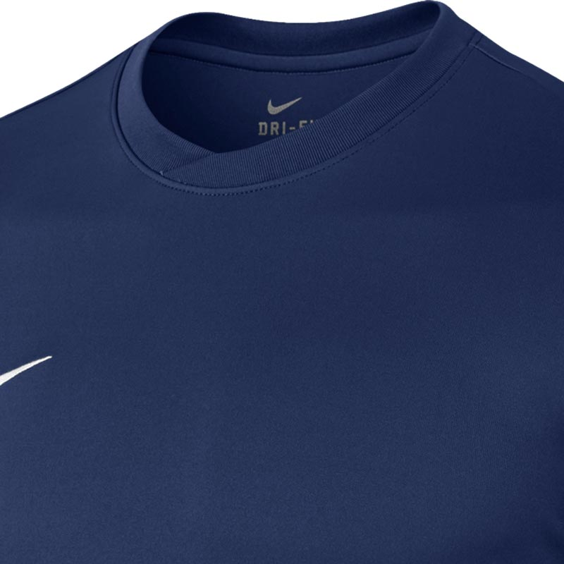 Nike Park VI Short Sleeve Junior  Football Shirt Midnight Navy