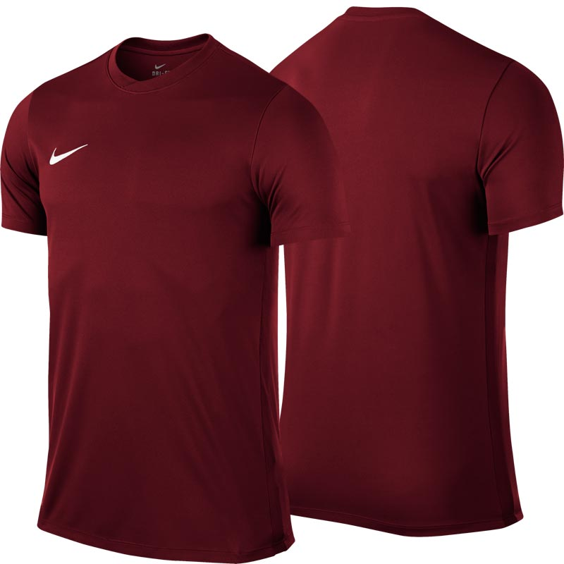 Nike Park VI Short Sleeve Junior Football Shirt Team Red