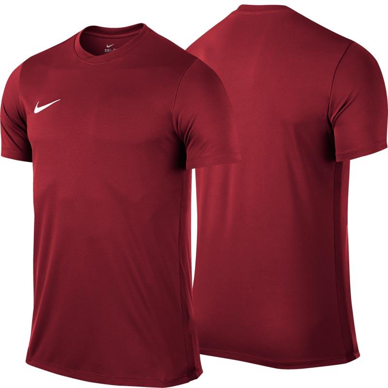 Nike Park VI Short Sleeve Senior Football Shirt Team Red
