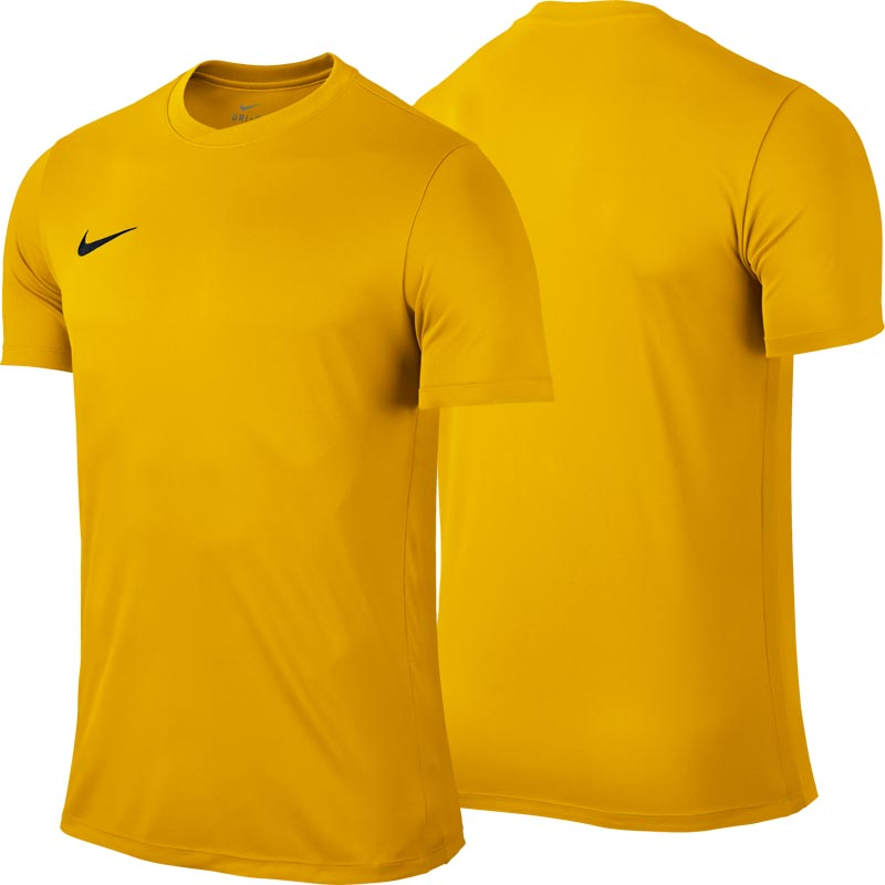 Nike Park VI Short Sleeve Senior Football Shirt University Gold