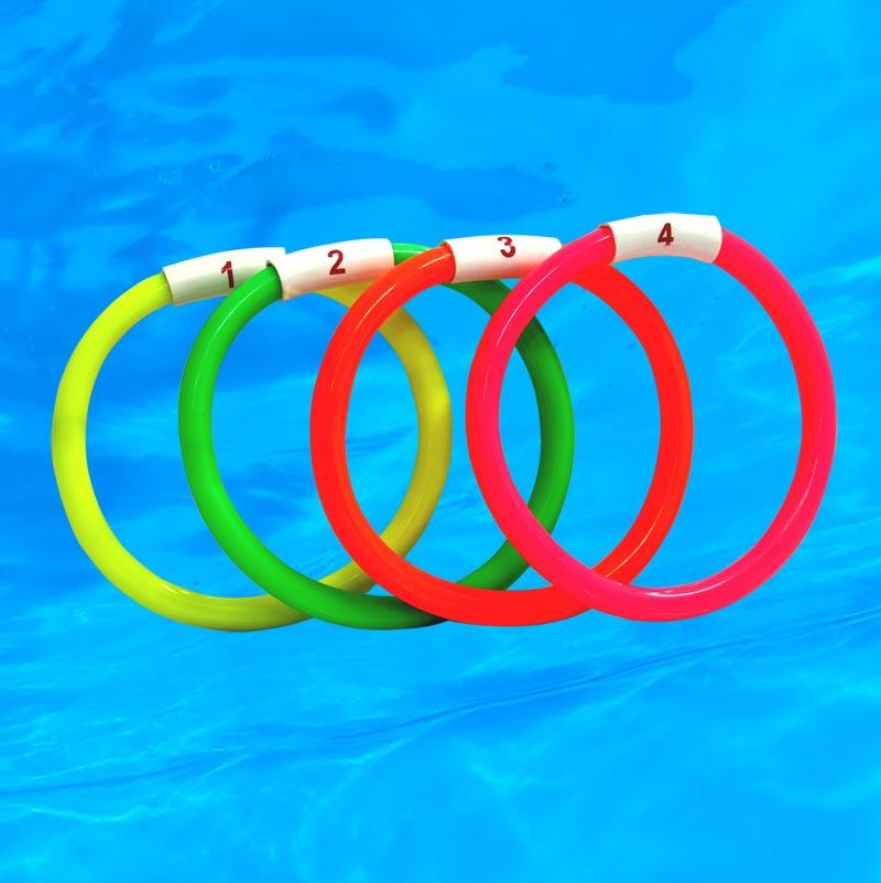 Swimming Sinker Ring 4 Set