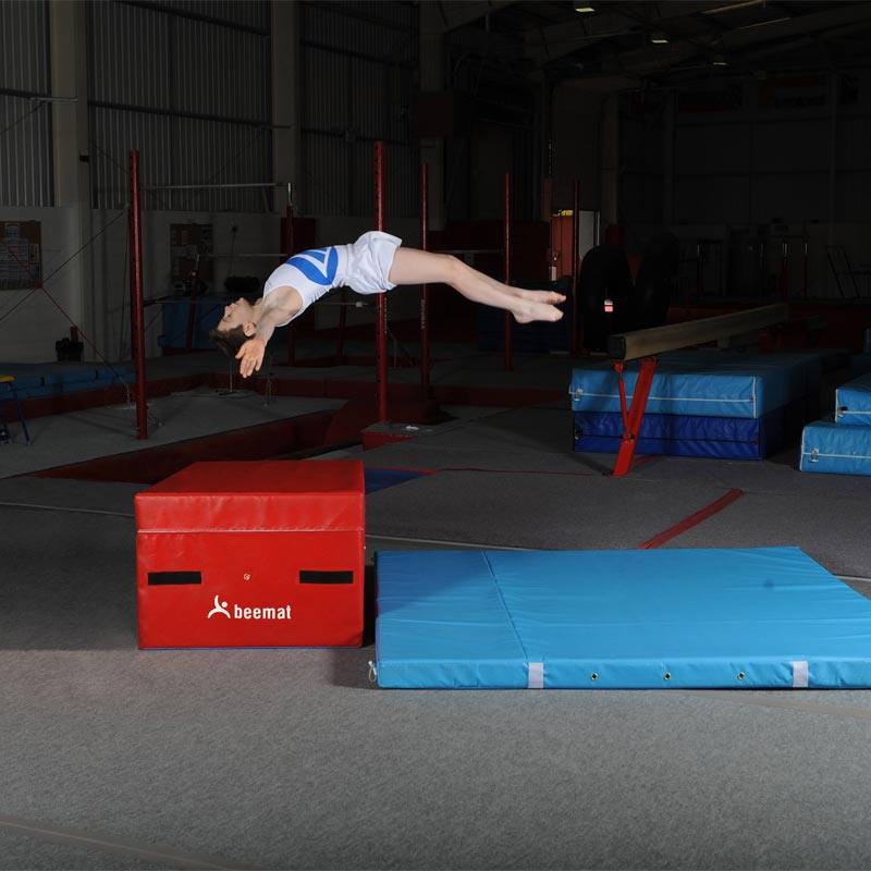 Beemat Square Gymnastic Coaching Block