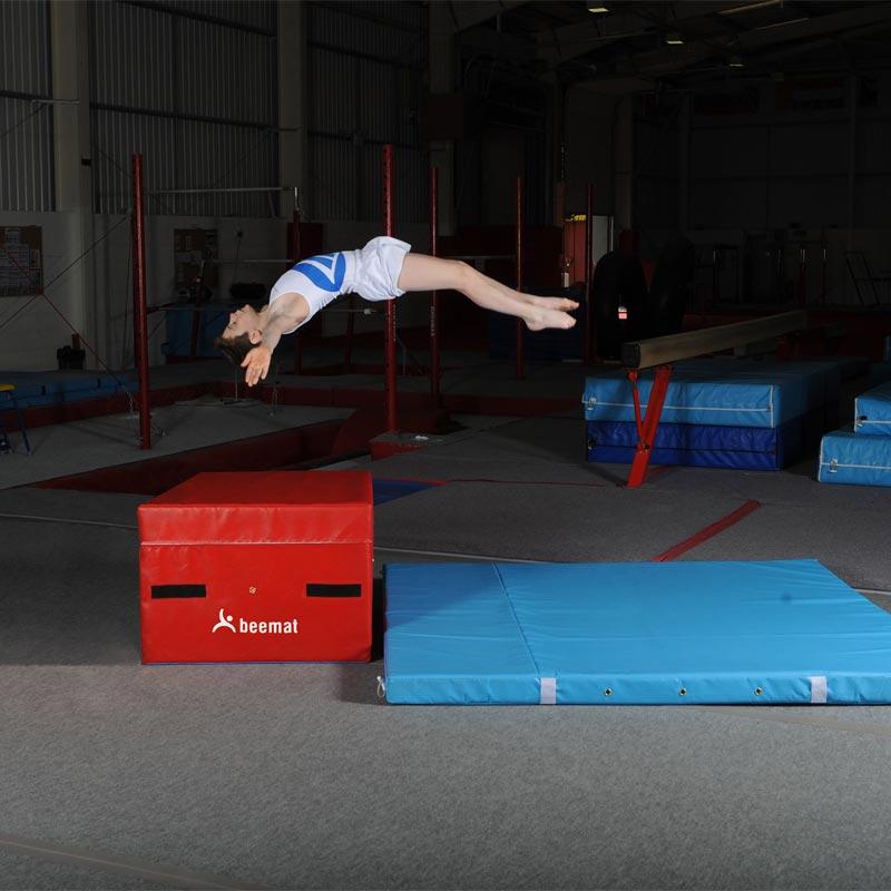 Beemat Gymnastic Coaching Block 1m x 1m x 600mm