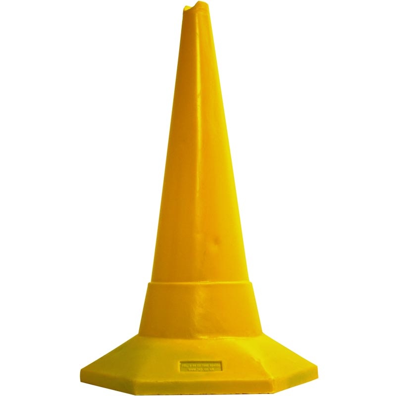 Ziland Sand Weighted Sports Cone 75cm Yellow