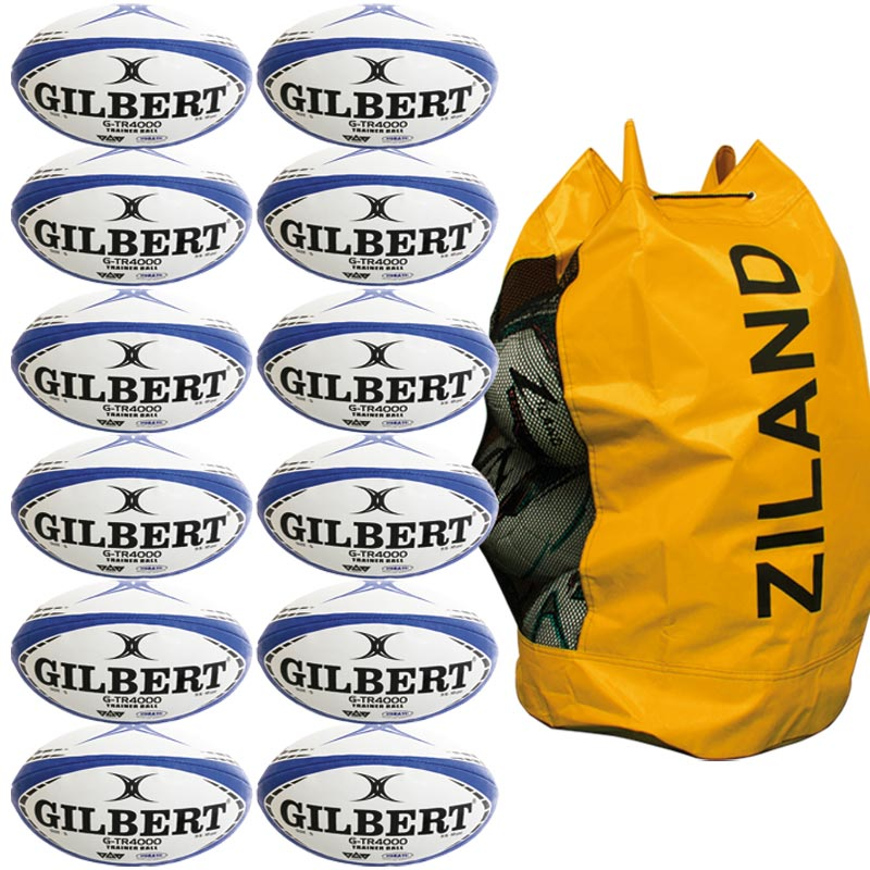 Gilbert G TR4000 Trainer Rugby Ball Navy