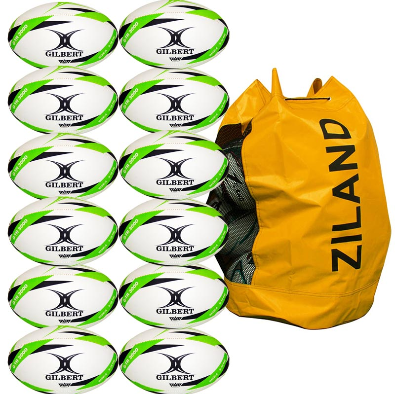 Gilbert G TR3000 Trainer Size 4 Rugby Ball