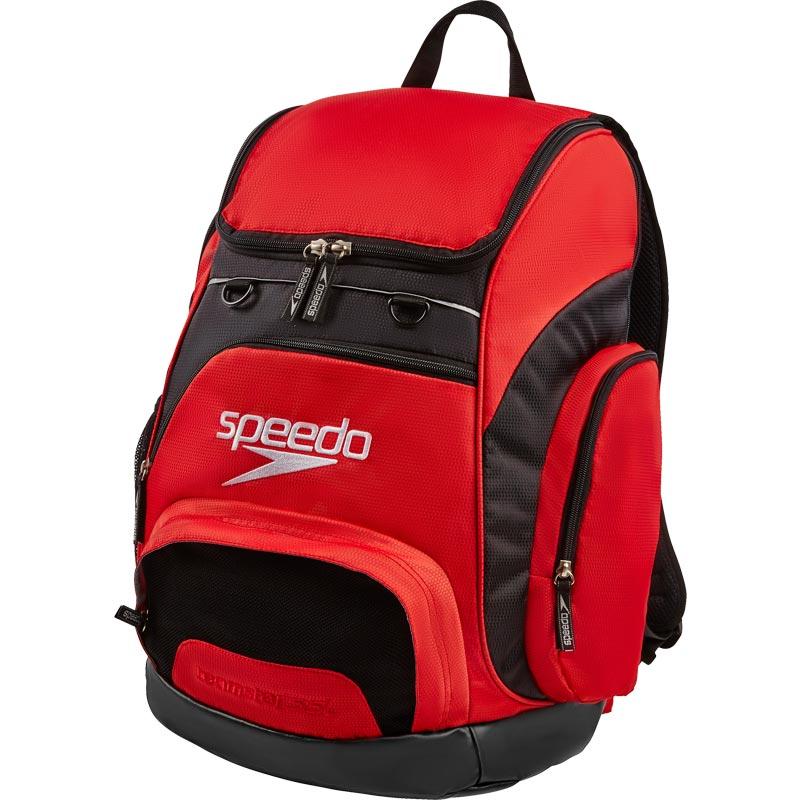 Speedo Teamster Backpack 35 Litre Red/Black