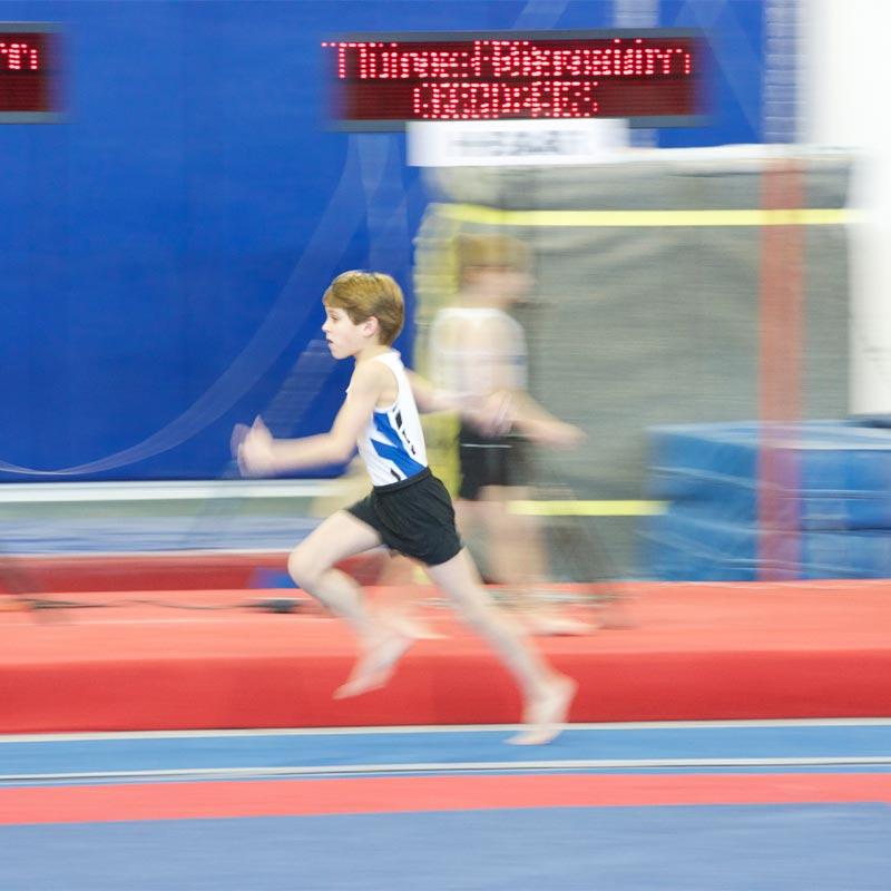 Beemat Gymnastic Runway Mat 25m x 1m