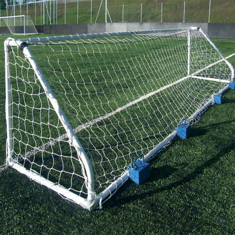 Harrod Sport Freestanding Heavy Duty Steel Football Posts 5 v 5