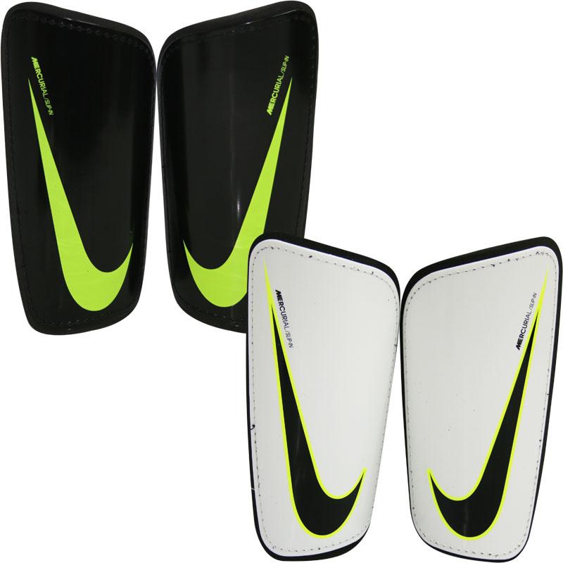 Nike Mercurial Hard Shell Slip In Shin Guards