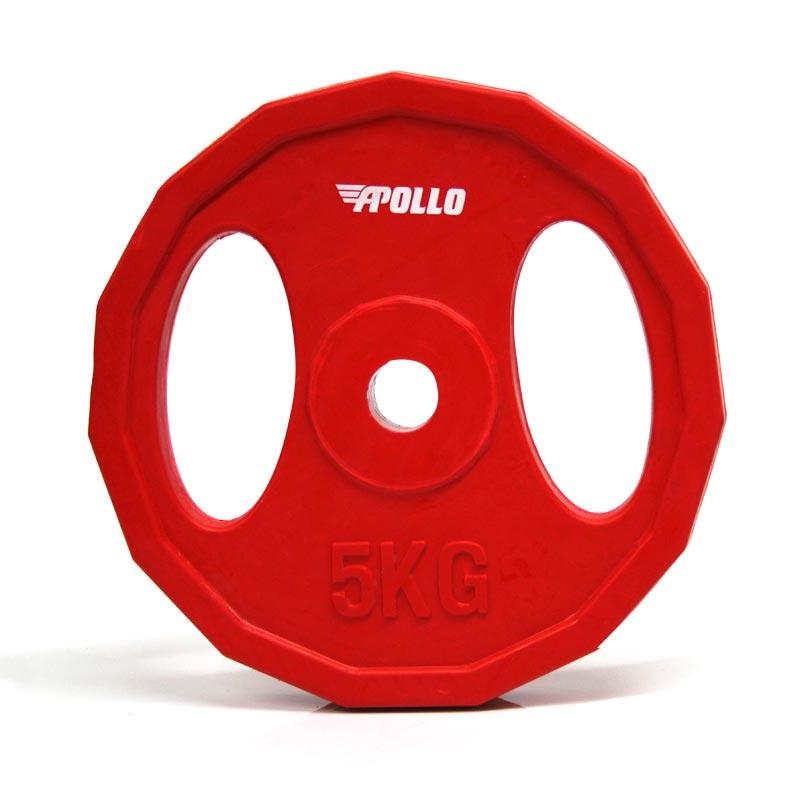 Apollo Studio Barbell Plate 5kg