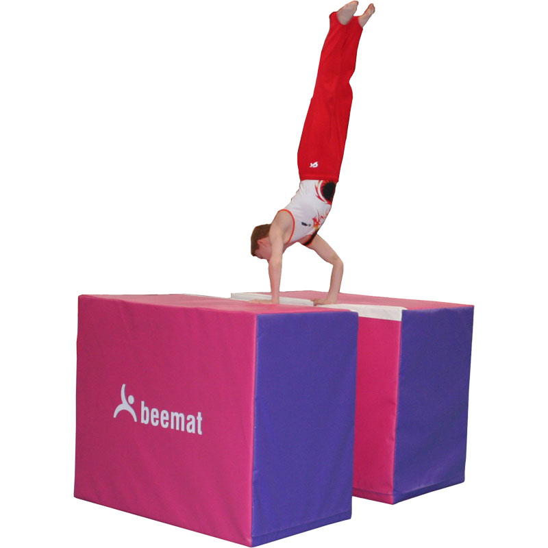 Beemat Gymnastic Foam Parallel Bars Trainer