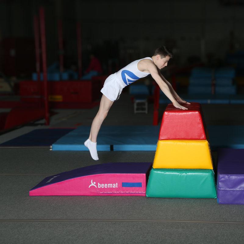 Beemat Gymnastic Lightweight Foam Springboard