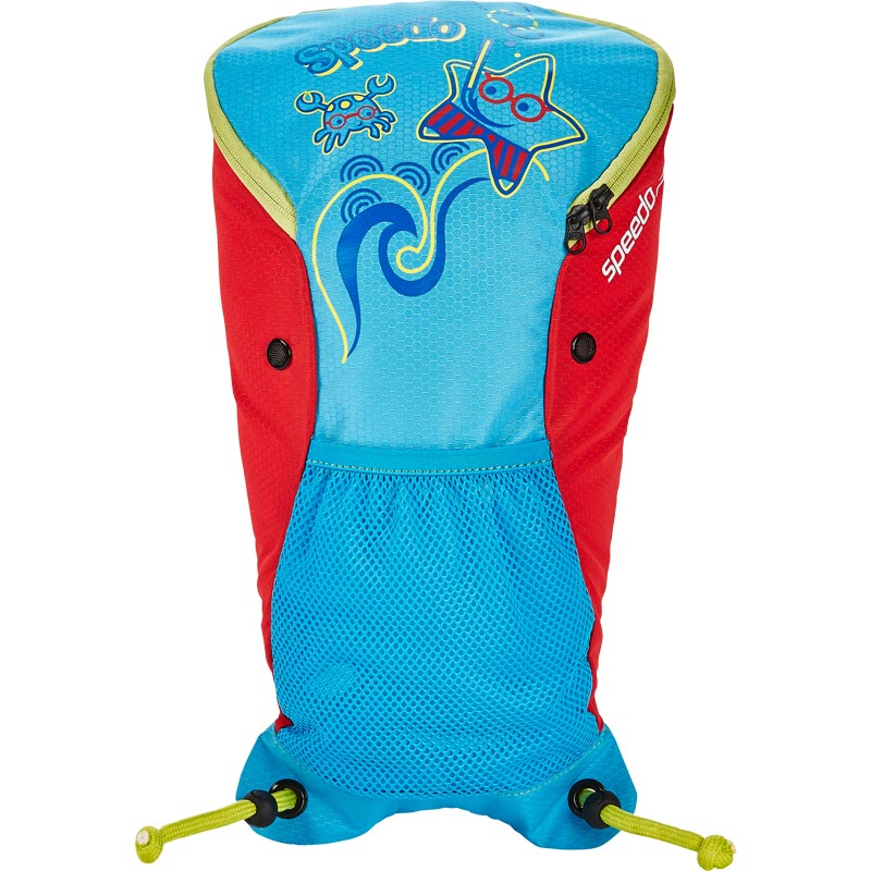 Speedo Sea Squad Backpack Blue/Red