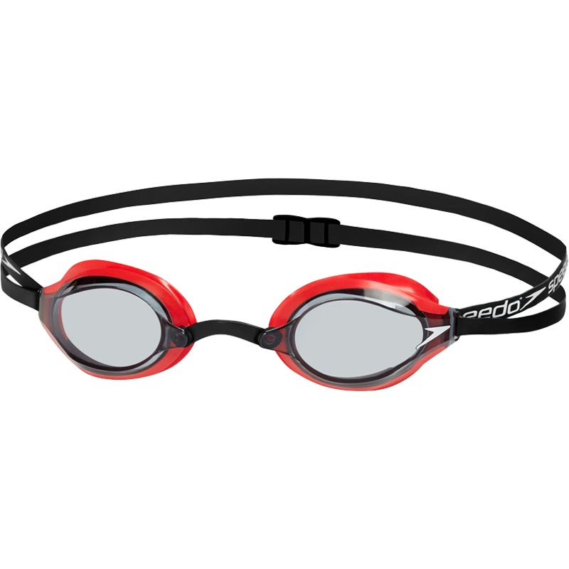 Speedo Fastskin Speedsocket 2 Swimming Goggles Red/Smoke