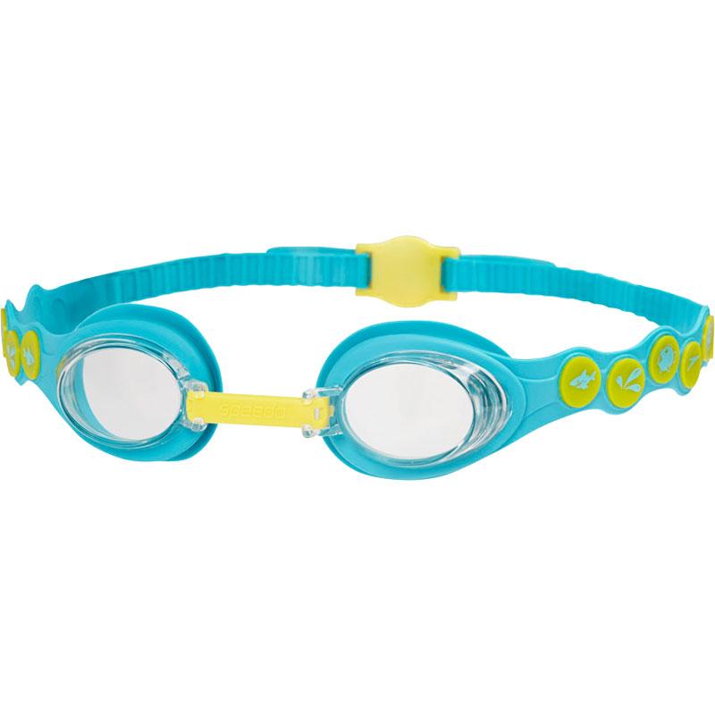 Speedo Sea Squad Swimming Goggles Bali Blue/Empire Yellow