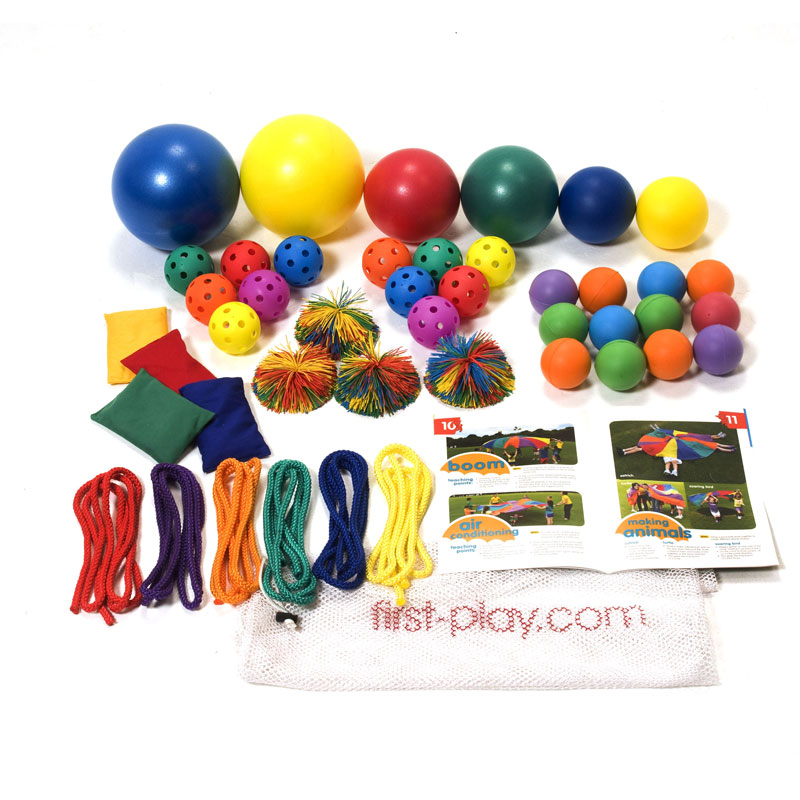 First Play Parachute Accessory Fun Pack