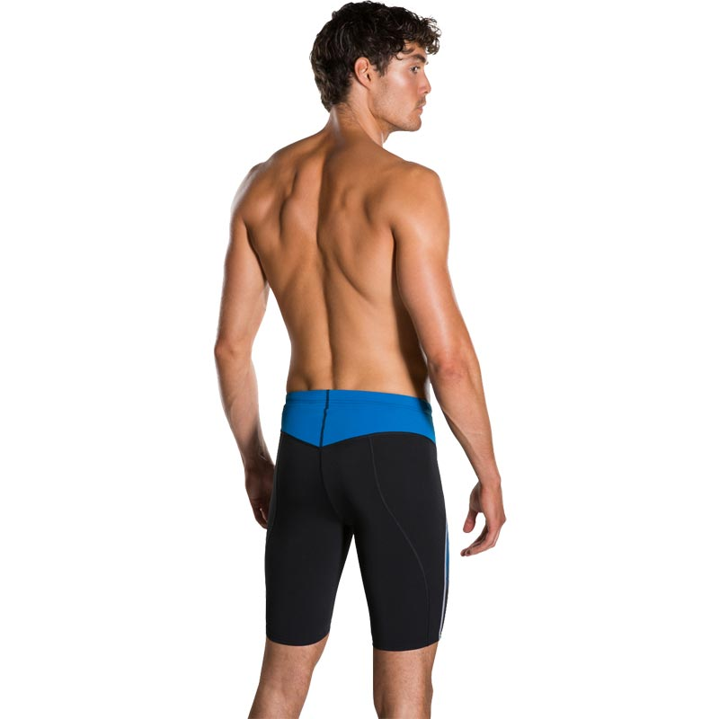 Speedo Fit Panel Jammer Black/Danube Blue