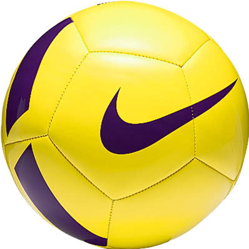Nike Pitch Team Training Football Yellow