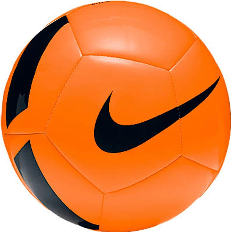 Nike Pitch Team Training Football Total Orange