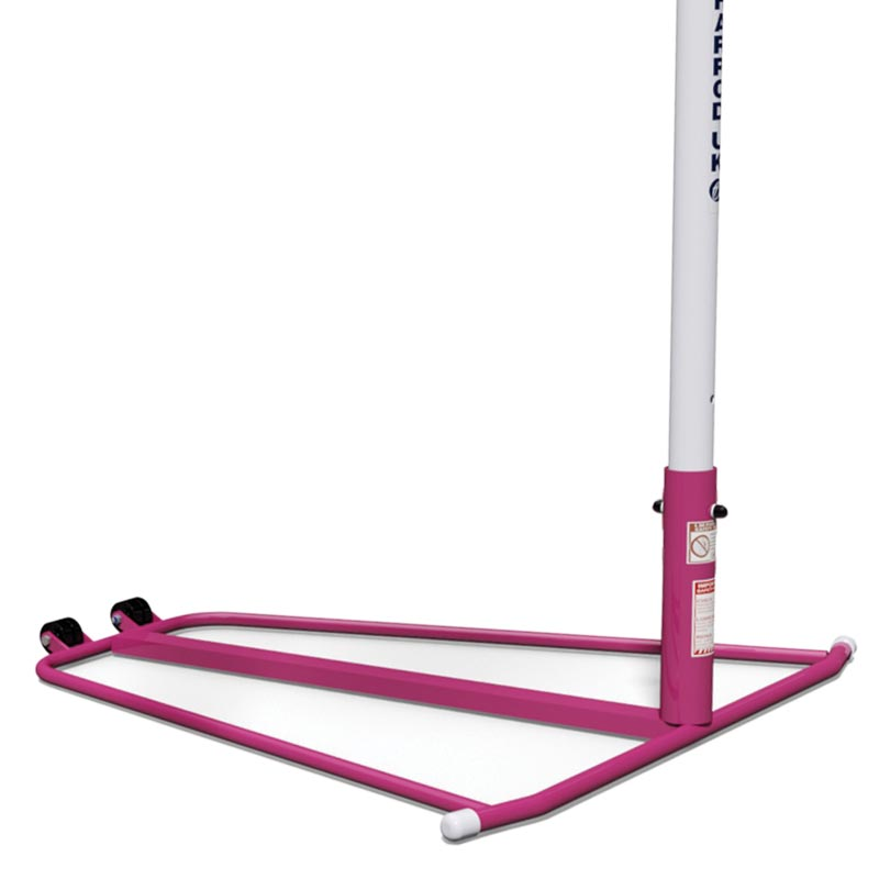 Harrod Sport Telescopic Junior Netball Post