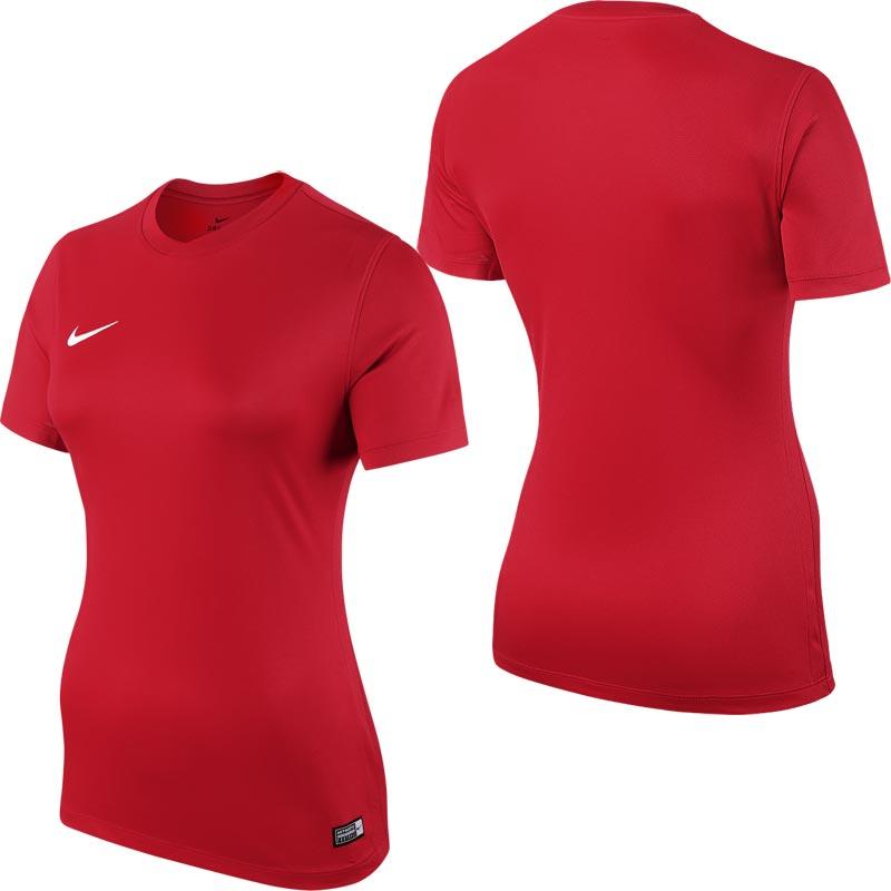 Nike Park VI Short Sleeve Womens Football Shirt University Red
