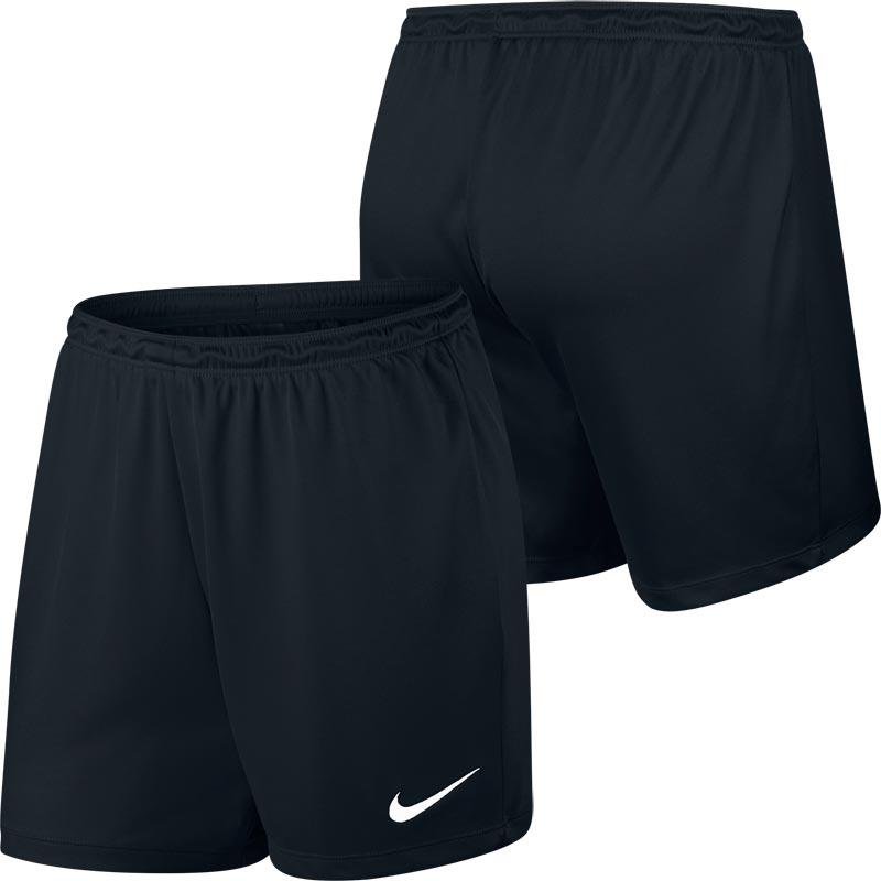 Nike Park II Knit Womens Football Shorts Black