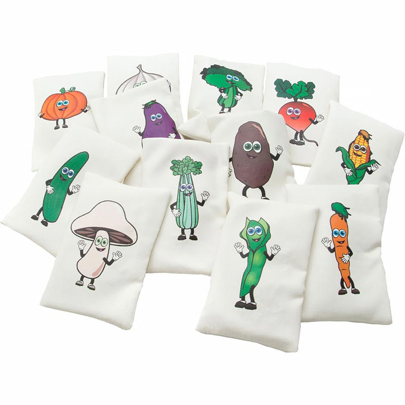 First Play Vegetable Bean Bags 12 Pack