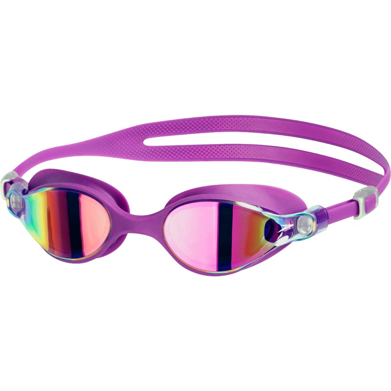 Speedo V-Class Virtue Mirror Female Swimming Goggles Purple/Pink