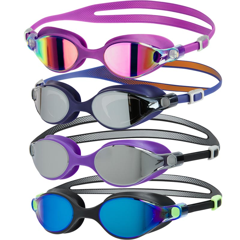 Speedo V-Class Virtue Mirror Female Swimming Goggles