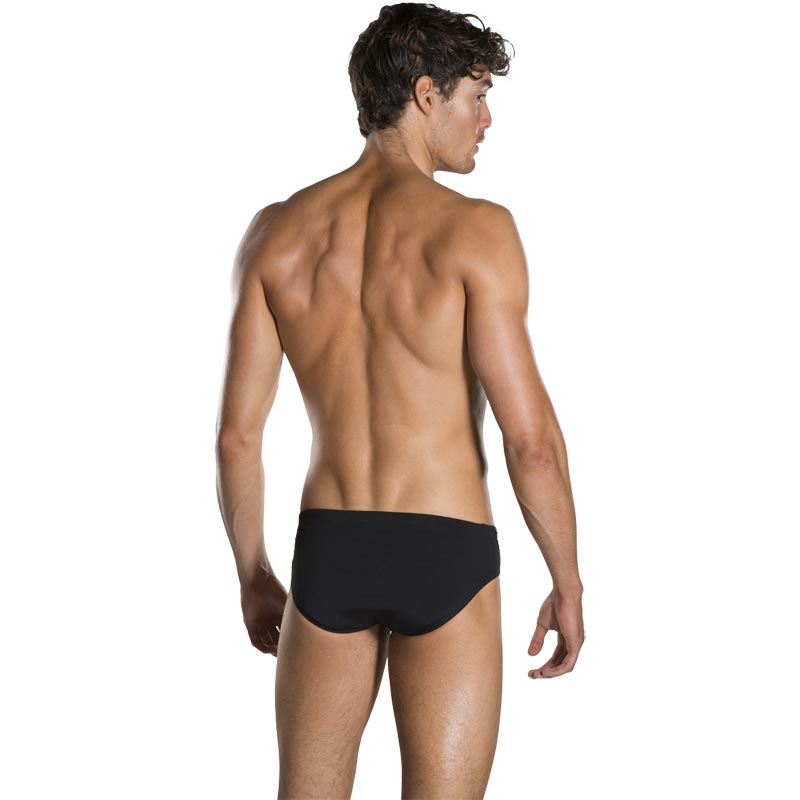 Speedo Boom Splice Brief Black/Oxid Grey