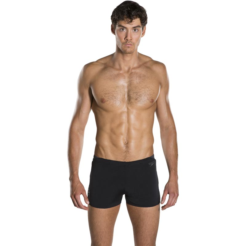 Speedo Boom Splice Aquashort Black/Oxid Grey