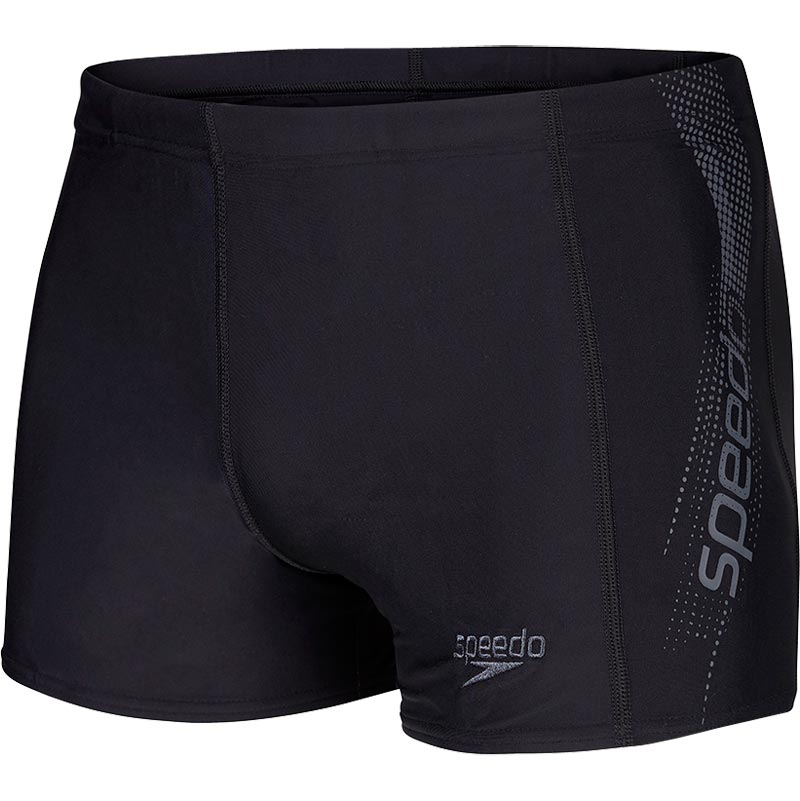 Speedo Sports Logo Aquashort Black/Grey