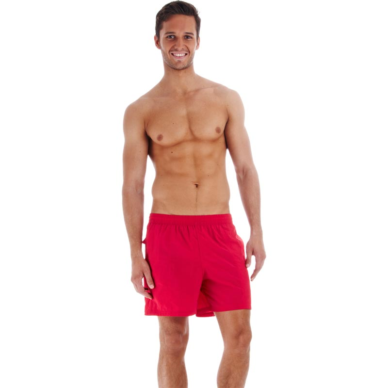 "Speedo Scope 16"" Watershorts Fed Red"