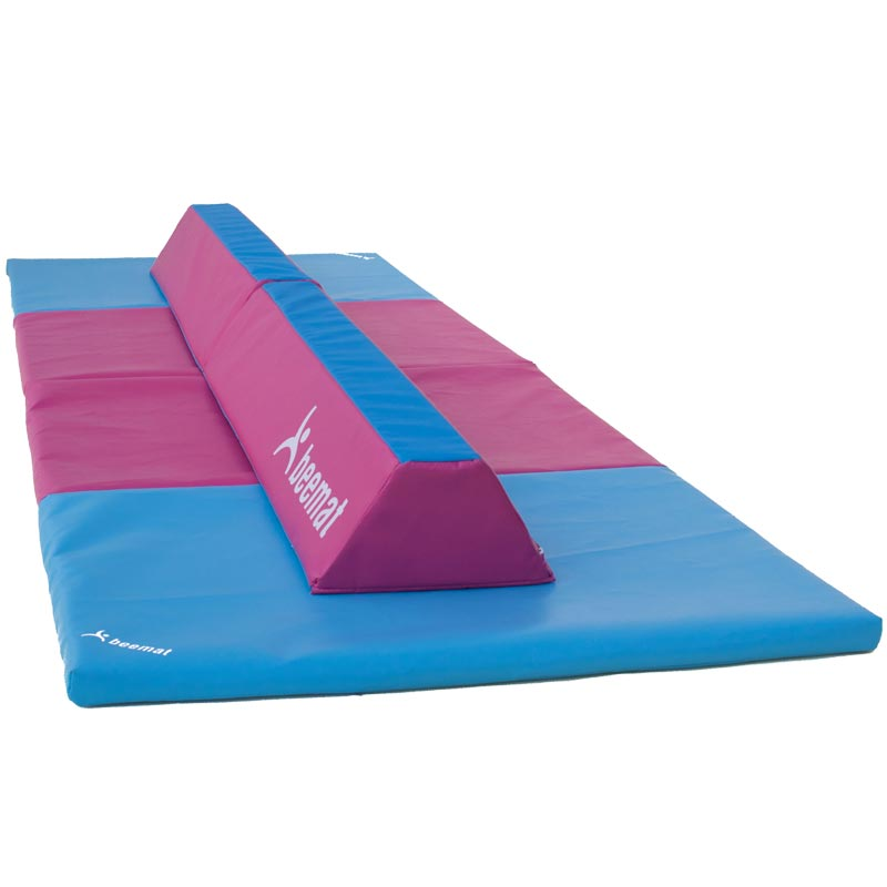 Beemat Foldable Balance Beam and Fold Mat