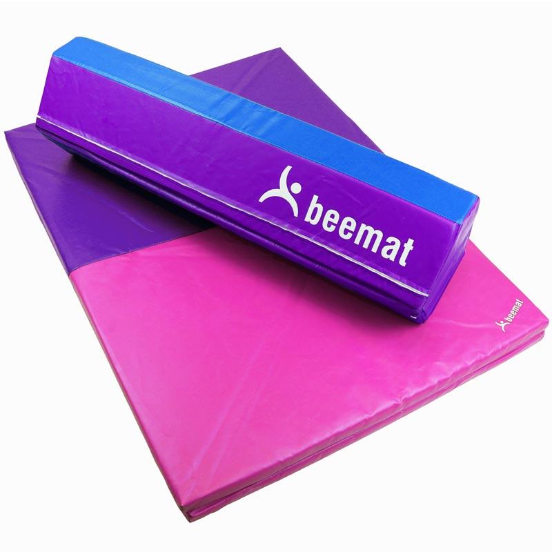 Beemat Foldable Balance Beam and Fold Mat