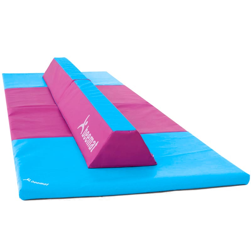 Beemat Gymnastic Foldable Balance Beam and Fold Mat