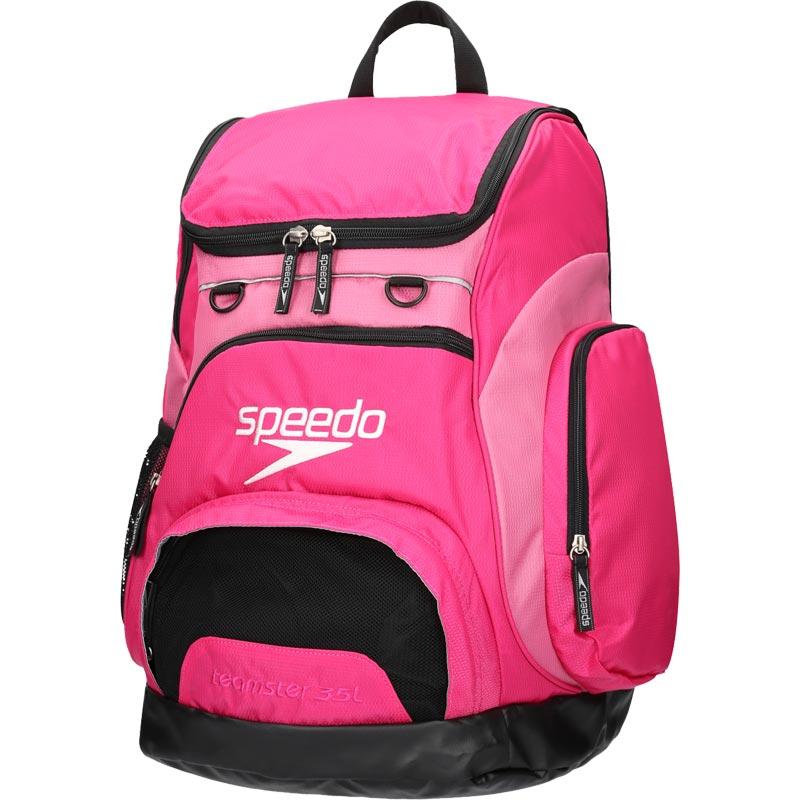 Speedo Teamster Backpack 35 Litre Pink/Black