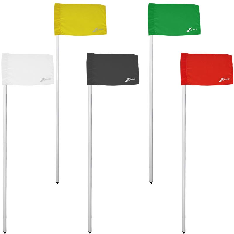 Ziland Club Corner Pole and Flag 4 Set