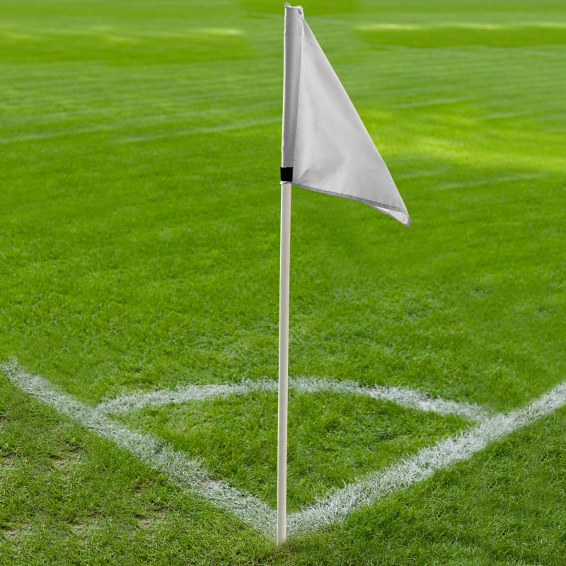 Ziland Club Corner Pole and Flag 4 Set